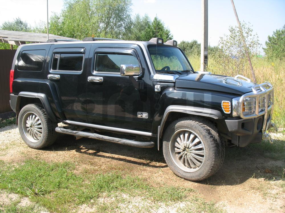 Подержанный Hummer H3, хорошее состояние, черный , 2008 года выпуска, цена 900 000 руб. в республике Татарстане