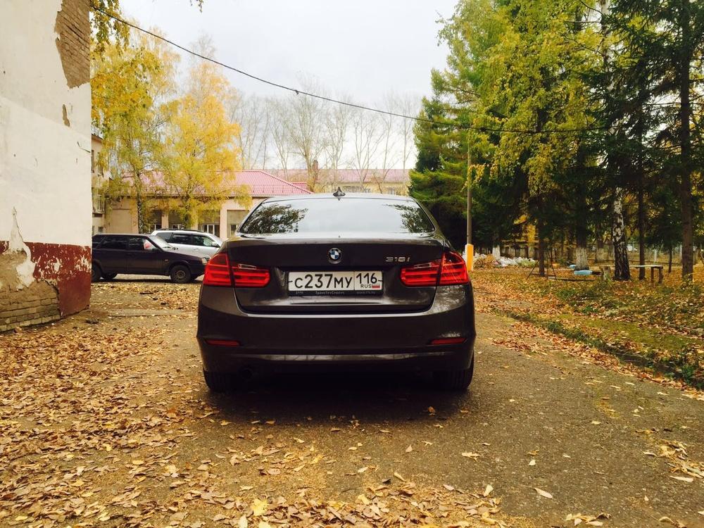 Подержанный BMW 3 серия, отличное состояние, серебряный перламутр, 2014 года выпуска, цена 1 180 000 руб. в республике Татарстане