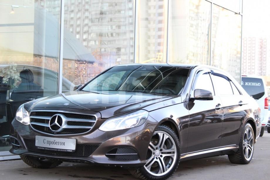 Mercedes-Benz E-Класс с пробегом, коричневый , отличное состояние, 2015 года выпуска, цена 2 499 000 руб. в автосалоне  ()