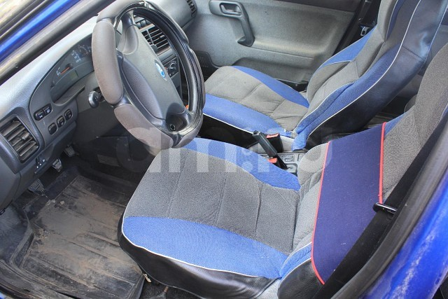 Подержанный ВАЗ (Lada) 2110, хорошее состояние, синий , 2007 года выпуска, цена 110 000 руб. в Челябинской области
