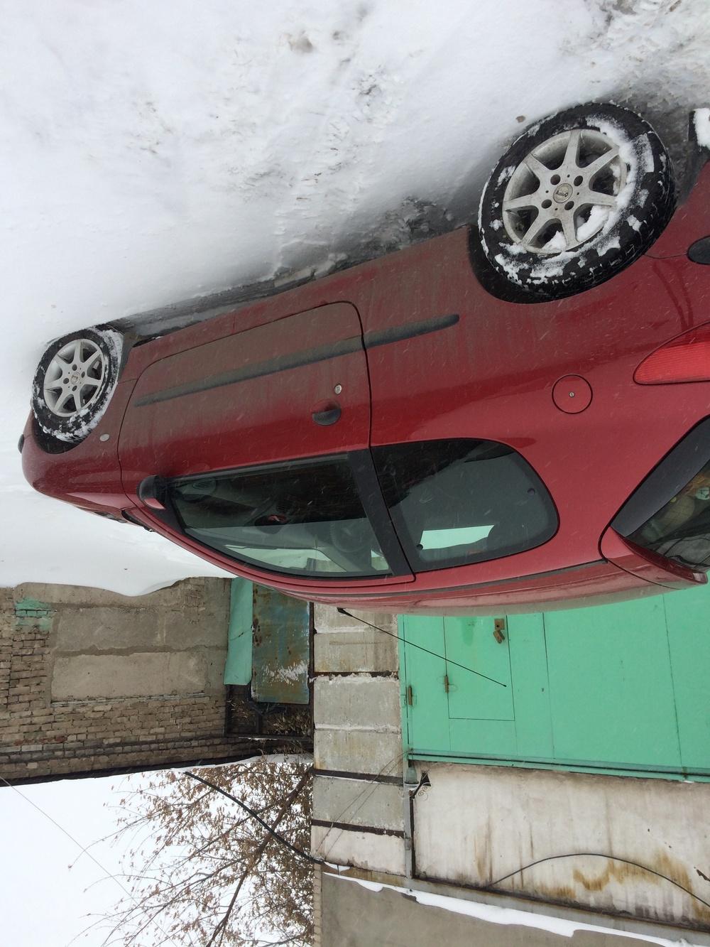 Подержанный Peugeot 206, хорошее состояние, бордовый , 2002 года выпуска, цена 165 000 руб. в Челябинской области
