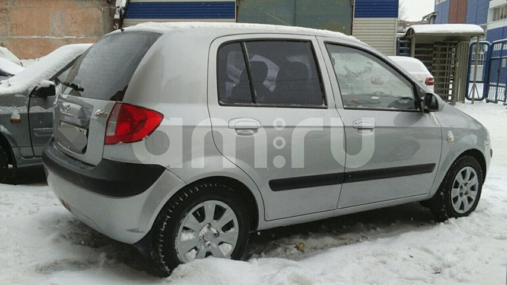 Подержанный Hyundai Getz, отличное состояние, серебряный металлик, 2010 года выпуска, цена 390 000 руб. в ао. Ханты-Мансийском Автономном округе - Югре