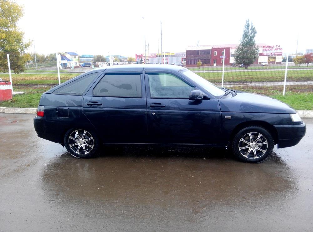 Подержанный ВАЗ (Lada) 2112, хорошее состояние, черный металлик, 2007 года выпуска, цена 140 000 руб. в республике Татарстане