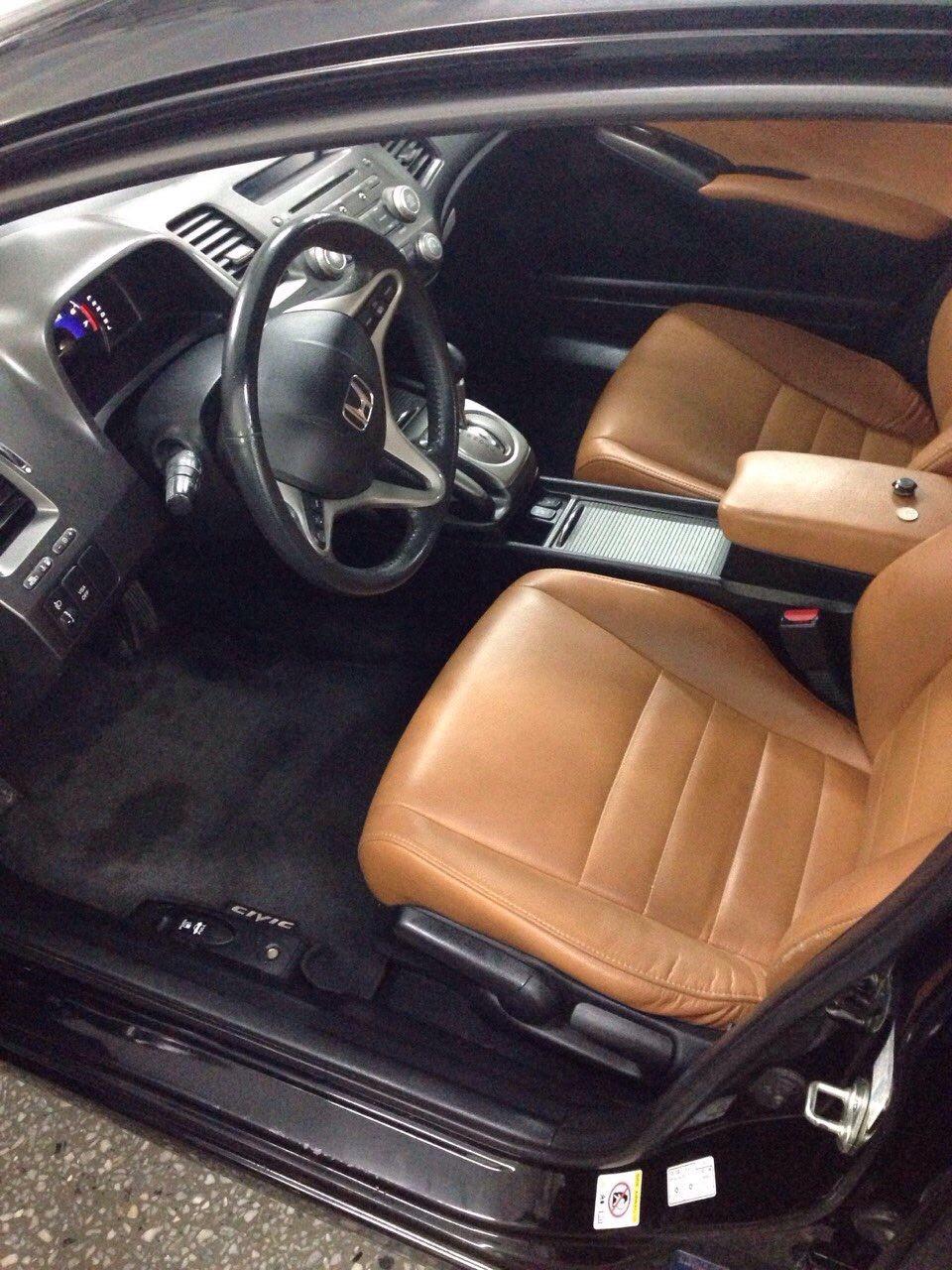 Подержанный Honda Civic, отличное состояние, черный , 2009 года выпуска, цена 510 000 руб. в ао. Ханты-Мансийском Автономном округе - Югре