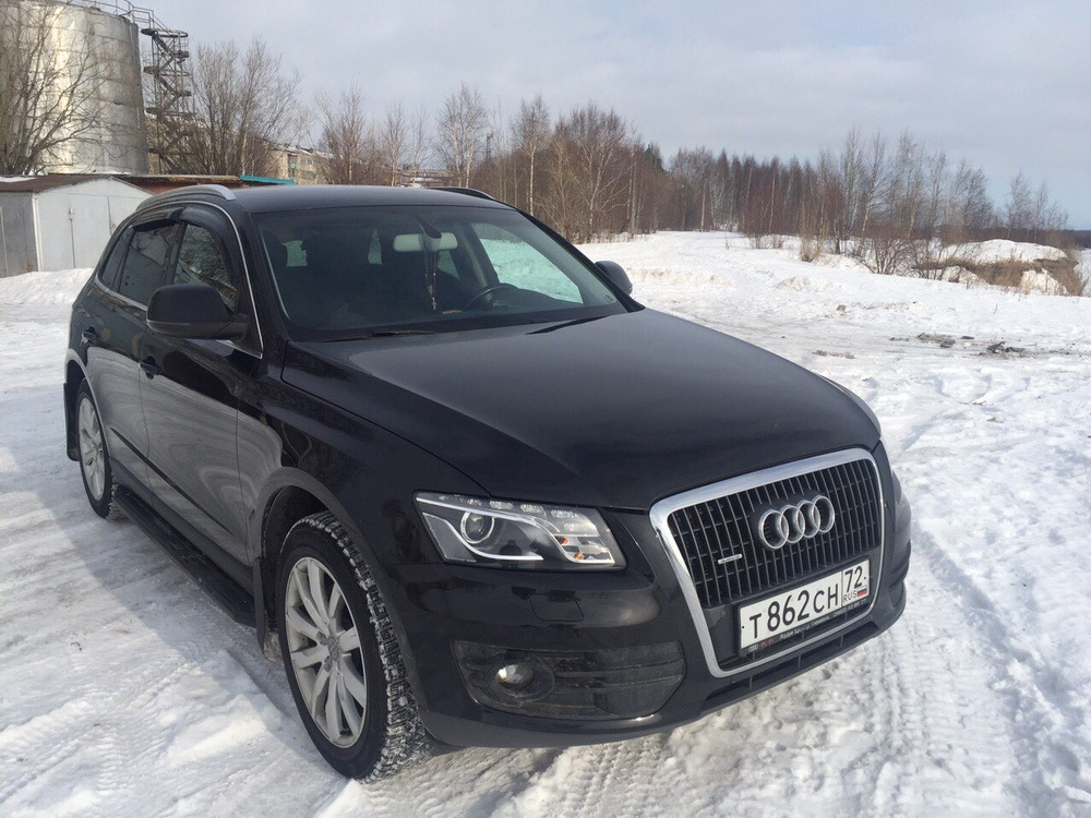 Подержанный Audi Q5, отличное состояние, черный , 2010 года выпуска, цена 1 050 000 руб. в ао. Ханты-Мансийском Автономном округе - Югре