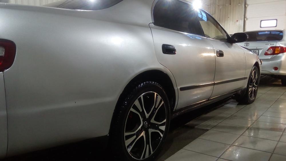 Подержанный Toyota Chaser, битый состояние, серый , 1995 года выпуска, цена 175 000 руб. в ао. Ханты-Мансийском Автономном округе - Югре