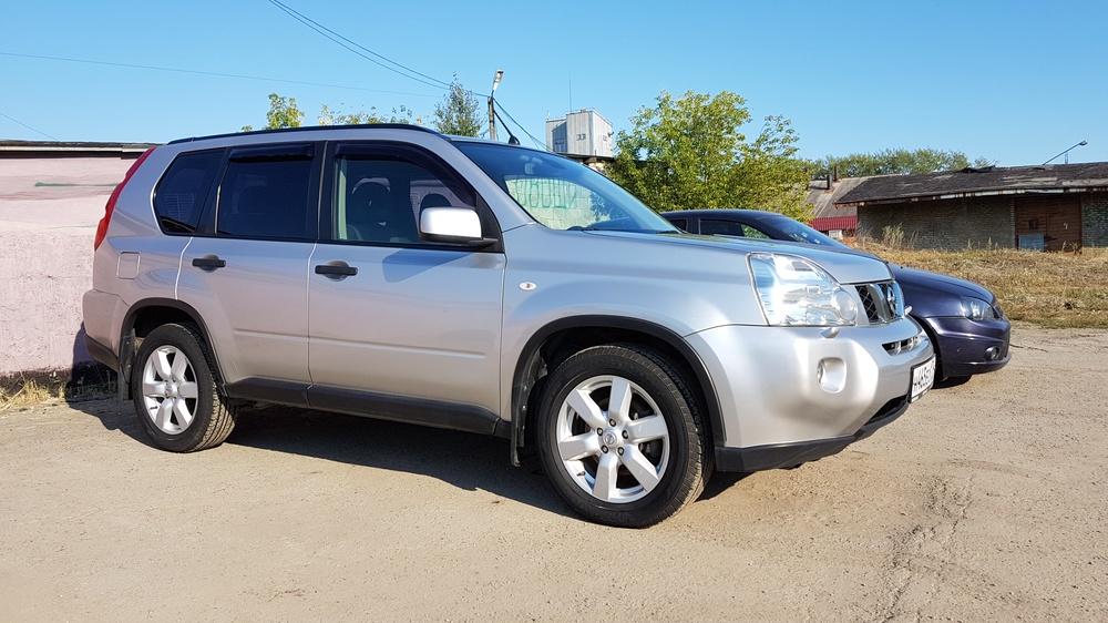 Подержанный Nissan X-Trail, отличное состояние, серебряный металлик, 2008 года выпуска, цена 710 000 руб. в Челябинской области