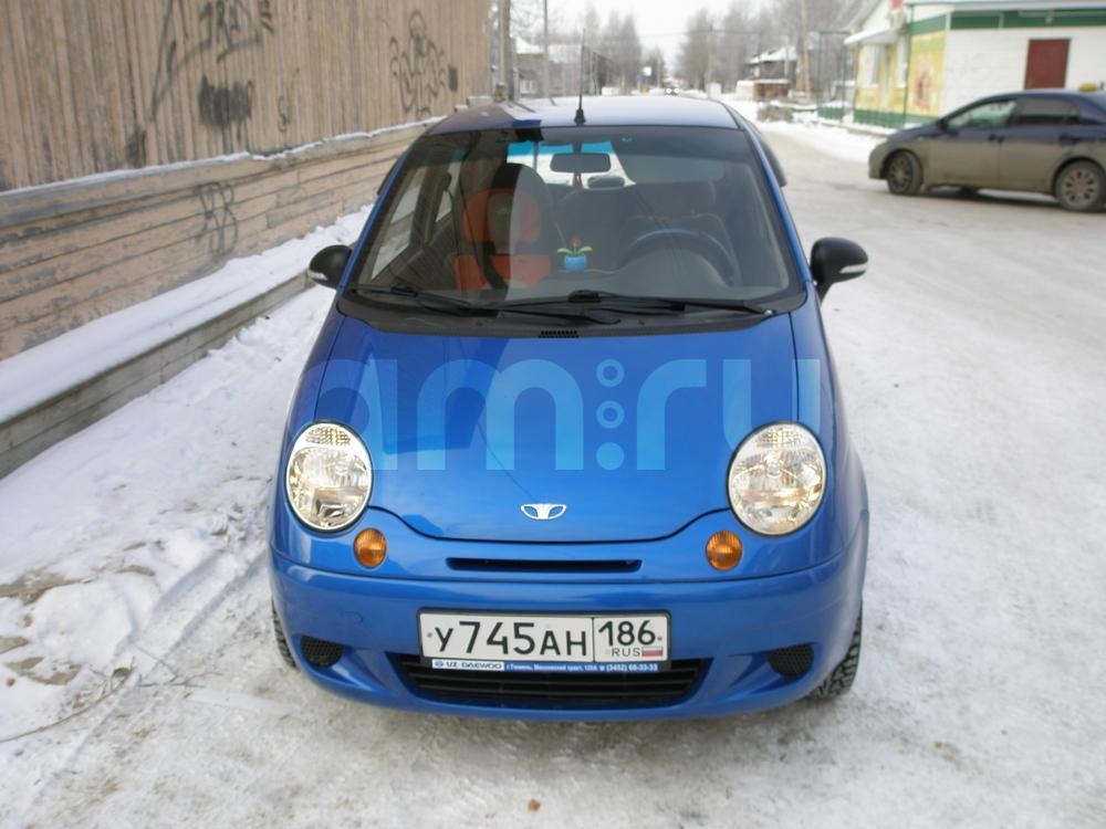 Подержанный Daewoo Matiz, отличное состояние, синий металлик, 2012 года выпуска, цена 220 000 руб. в ао. Ханты-Мансийском Автономном округе - Югре