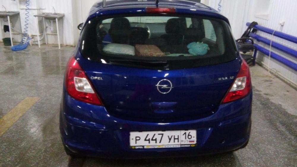 Подержанный Opel Corsa, хорошее состояние, синий металлик, 2008 года выпуска, цена 260 000 руб. в республике Татарстане