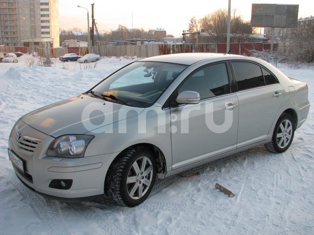 Подержанный Toyota Avensis, отличное состояние, серебряный , 2007 года выпуска, цена 470 000 руб. в Челябинской области