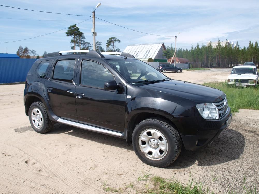 Подержанный Renault Duster, отличное состояние, черный , 2012 года выпуска, цена 700 000 руб. в ао. Ханты-Мансийском Автономном округе - Югре