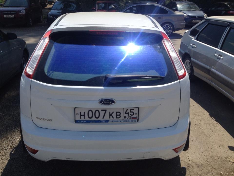 Подержанный Ford Focus, отличное состояние, белый , 2010 года выпуска, цена 400 000 руб. в Челябинской области