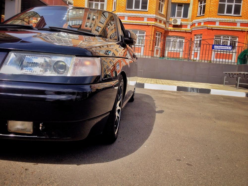 Подержанный ВАЗ (Lada) 2112, отличное состояние, черный , 2008 года выпуска, цена 155 000 руб. в республике Татарстане