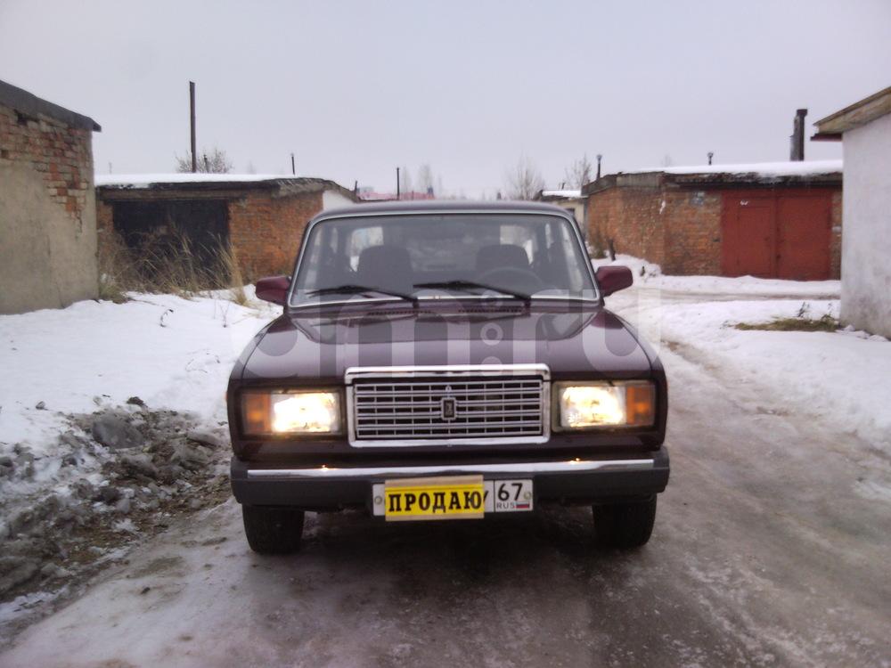 Подержанный ВАЗ (Lada) 2107, отличное состояние, коричневый , 2008 года выпуска, цена 88 000 руб. в Смоленской области