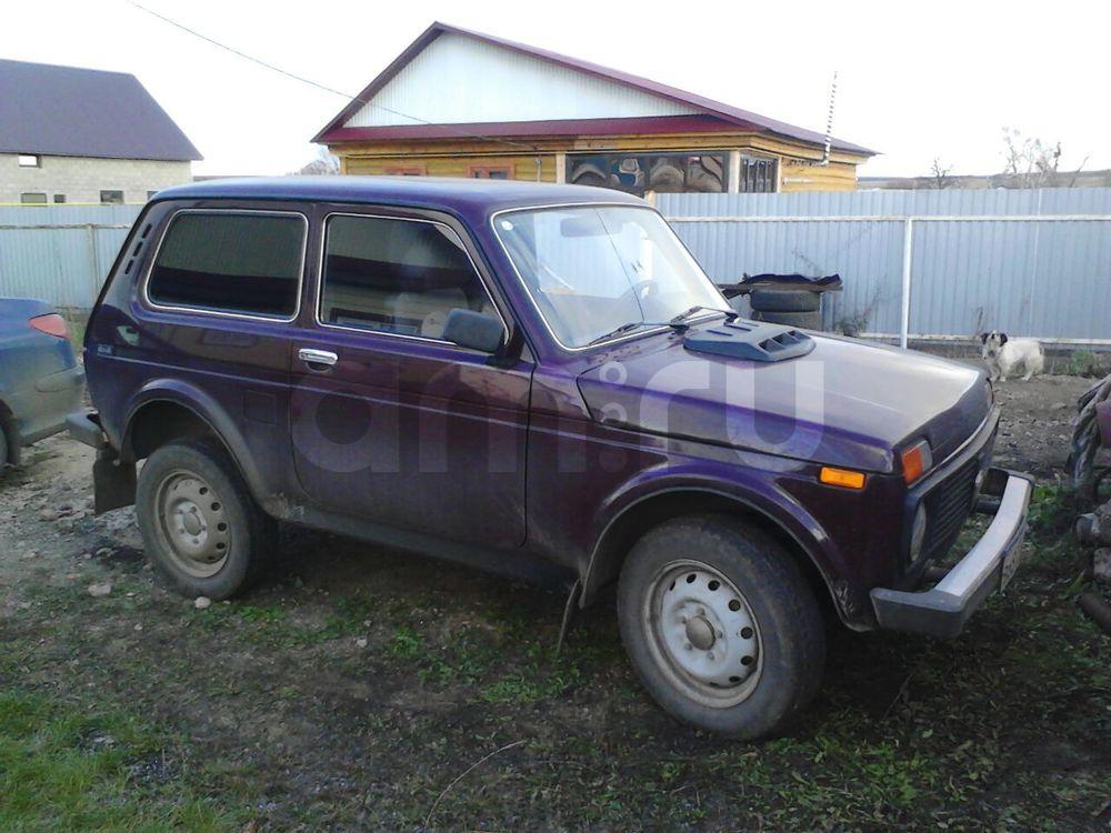 Подержанный ВАЗ (Lada) 4x4, хорошее состояние, бордовый , 2010 года выпуска, цена 220 000 руб. в республике Татарстане