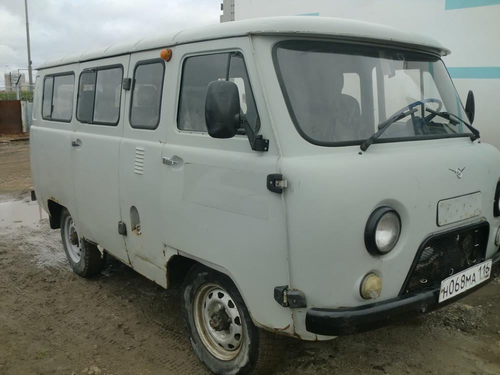 Подержанный УАЗ 2206, хорошее состояние, белый , 2010 года выпуска, цена 170 000 руб. в республике Татарстане