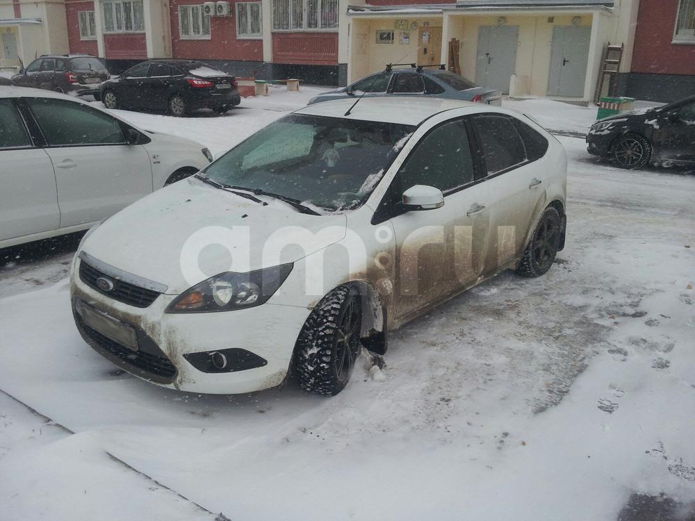 Подержанный Ford Focus, отличное состояние, белый , 2011 года выпуска, цена 495 000 руб. в республике Татарстане