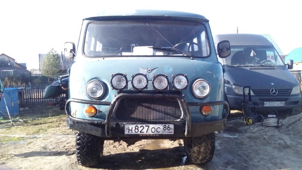 Подержанный УАЗ 3909, хорошее состояние, голубой матовый, 2000 года выпуска, цена 150 000 руб. в ао. Ханты-Мансийском Автономном округе - Югре