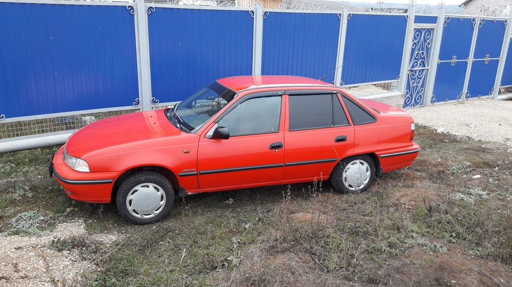 Подержанный Daewoo Nexia, хорошее состояние, красный , 2007 года выпуска, цена 120 000 руб. в республике Татарстане