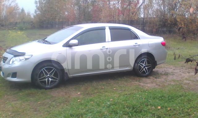 Подержанный Toyota Corolla, хорошее состояние, серебряный металлик, 2007 года выпуска, цена 460 000 руб. в ао. Ханты-Мансийском Автономном округе - Югре
