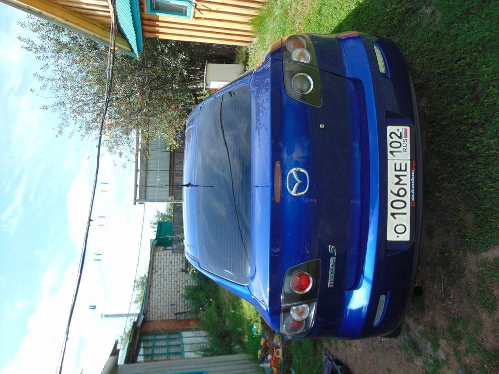 Подержанный Mazda 3, хорошее состояние, синий металлик, 2007 года выпуска, цена 300 000 руб. в ао. Ханты-Мансийском Автономном округе - Югре