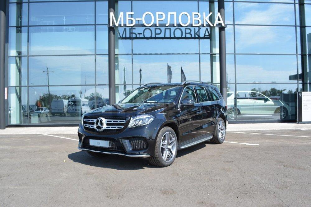 Новый авто Mercedes-Benz GLS-класс, черный металлик, 2016 года выпуска, цена 5 143 000 руб. в автосалоне  ()