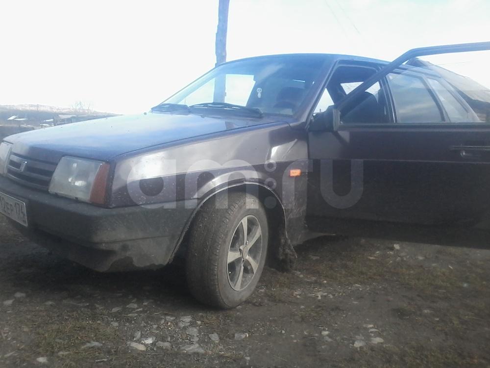 Подержанный ВАЗ (Lada) 2109, хорошее состояние, фиолетовый , 1997 года выпуска, цена 32 000 руб. в Челябинской области