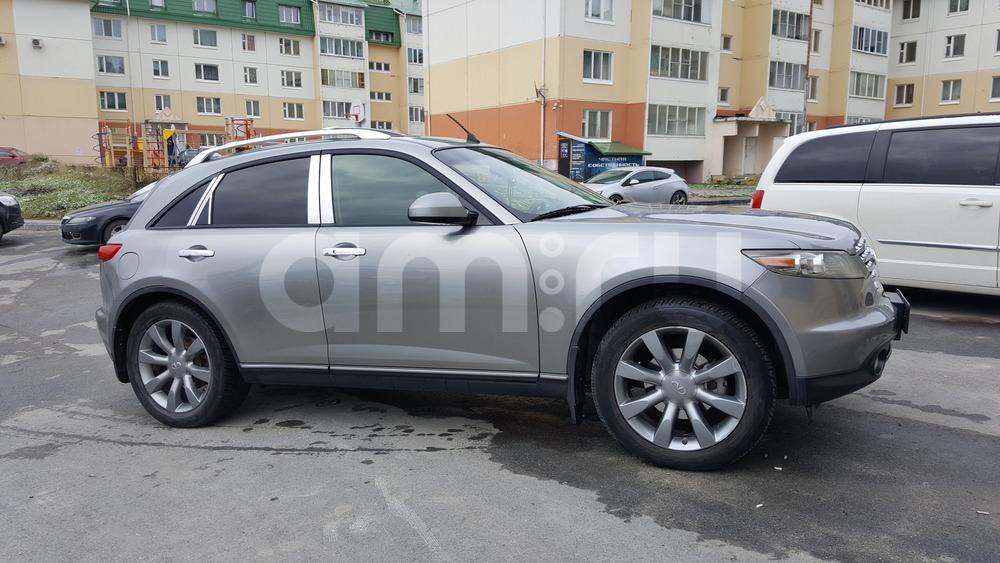 Подержанный Infiniti FX-Series, отличное состояние, серебряный металлик, 2004 года выпуска, цена 630 000 руб. в ао. Ханты-Мансийском Автономном округе - Югре