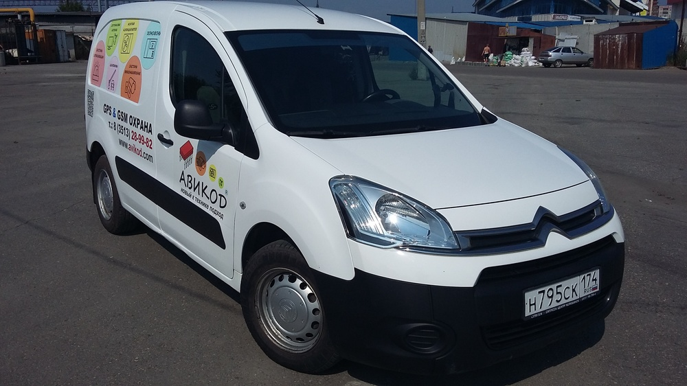 Подержанный Citroen Berlingo, отличное состояние, белый , 2012 года выпуска, цена 478 000 руб. в Челябинской области