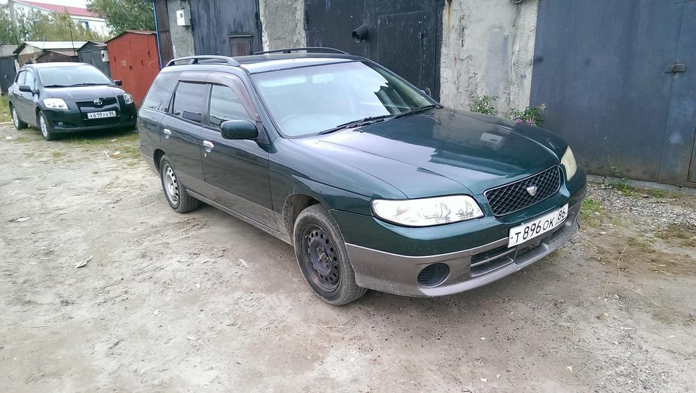 Подержанный Nissan Avenir, хорошее состояние, зеленый , 1999 года выпуска, цена 165 000 руб. в ао. Ханты-Мансийском Автономном округе - Югре