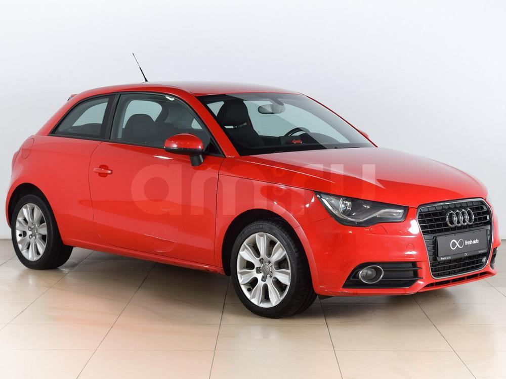 Audi A1 с пробегом, красный , отличное состояние, 2010 года выпуска, цена 550 000 руб. в автосалоне  ()