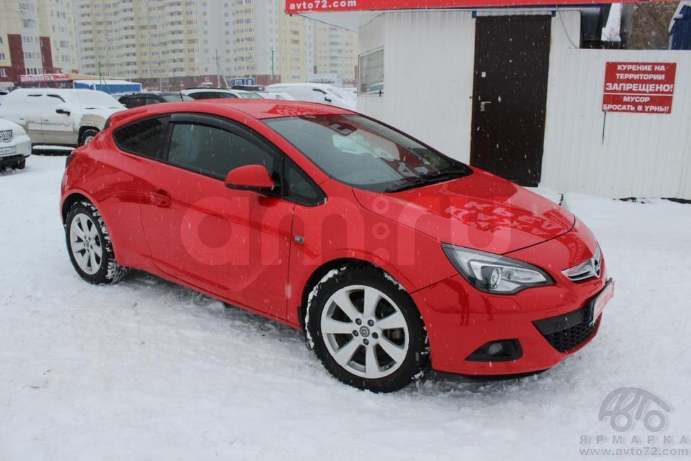 Opel Astra с пробегом, красный , отличное состояние, 2011 года выпуска, цена 567 000 руб. в автосалоне  ()