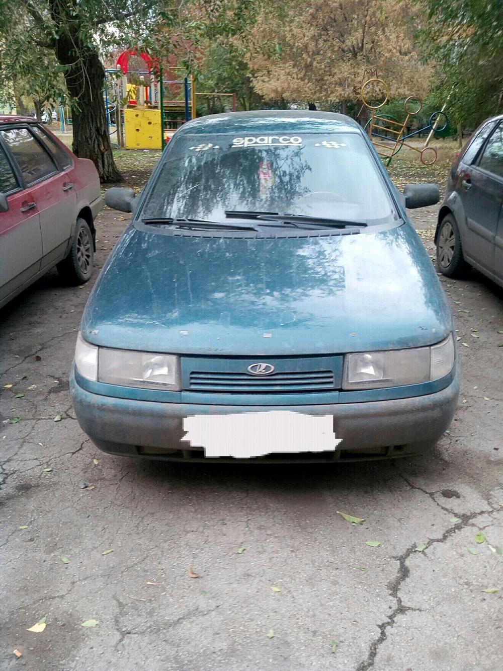 Подержанный ВАЗ (Lada) 2110, хорошее состояние, зеленый металлик, 1999 года выпуска, цена 35 000 руб. в Челябинской области