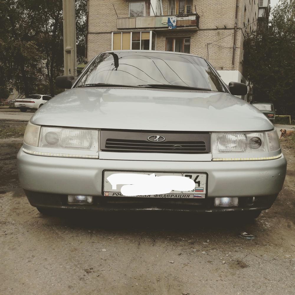 Подержанный ВАЗ (Lada) 2110, хорошее состояние, серебряный , 2001 года выпуска, цена 85 000 руб. в Челябинской области