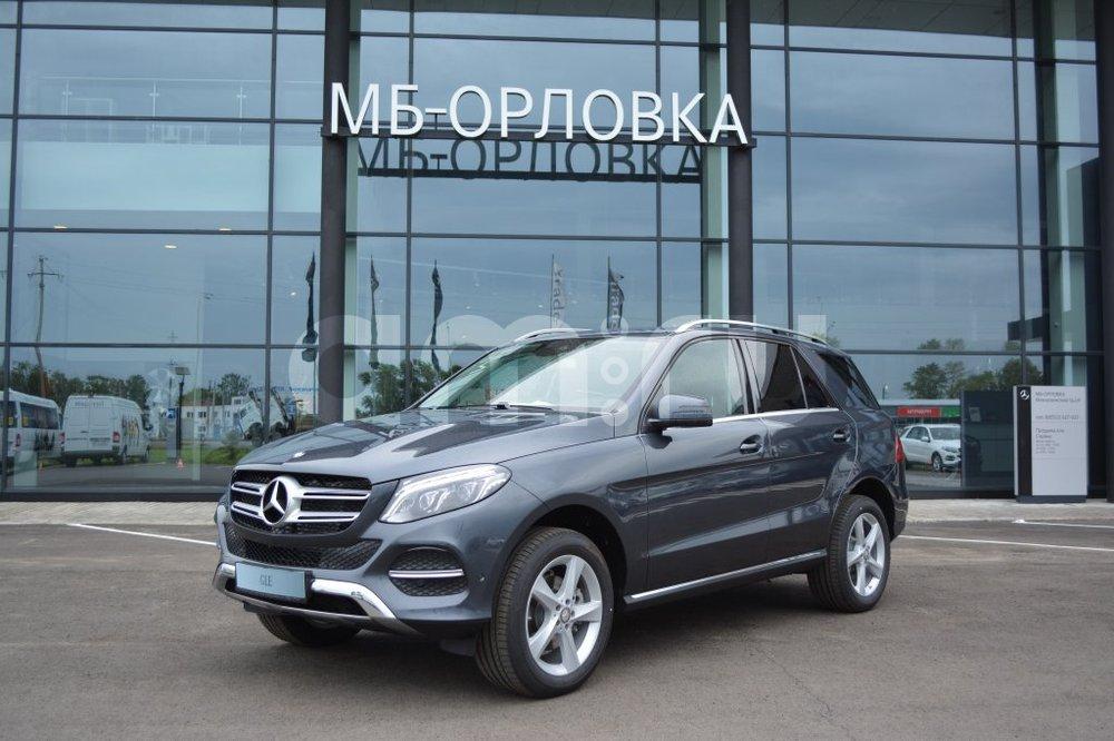 Новый авто Mercedes-Benz GLE-Класс, серый металлик, 2016 года выпуска, цена 4 624 000 руб. в автосалоне  ()