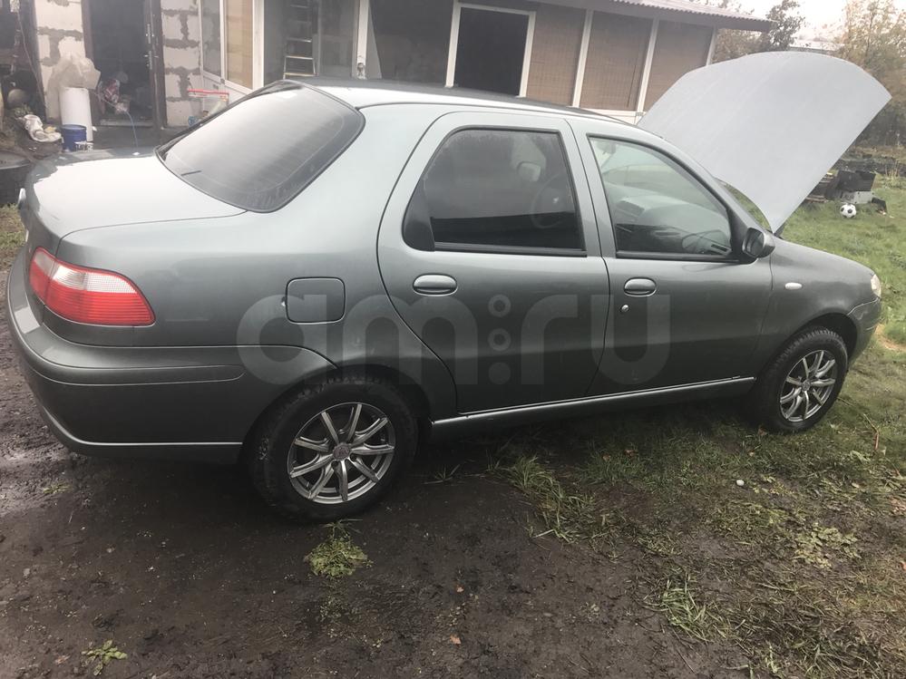 Подержанный Fiat Albea, хорошее состояние, серый , 2011 года выпуска, цена 240 000 руб. в республике Татарстане