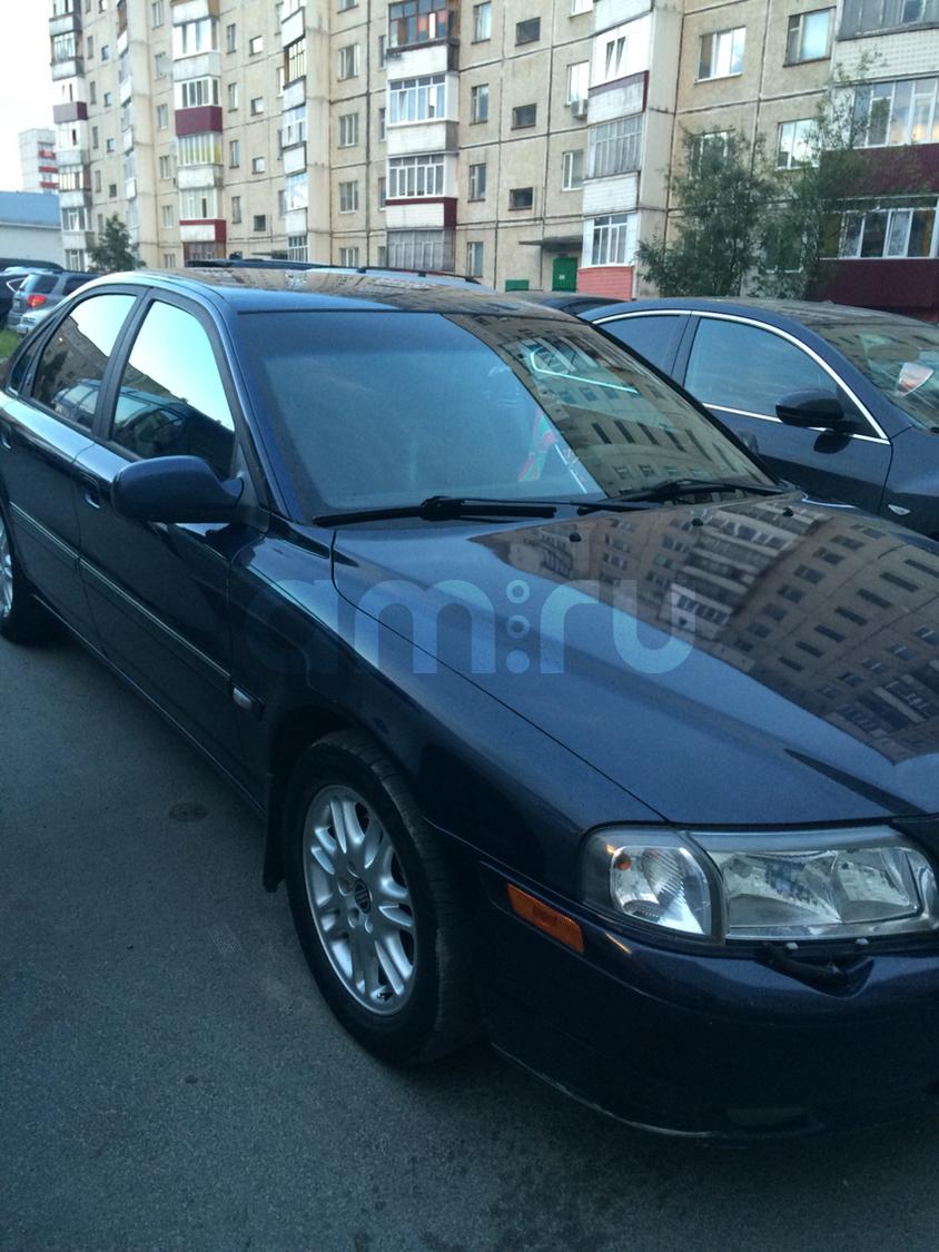 Подержанный Volvo S80, хорошее состояние, синий , 2001 года выпуска, цена 200 000 руб. в ао. Ханты-Мансийском Автономном округе - Югре