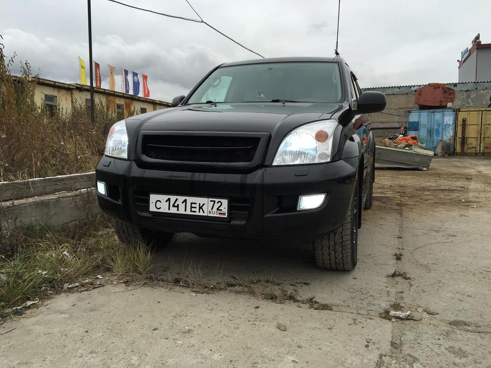 Подержанный Toyota Land Cruiser Prado, отличное состояние, черный , 2007 года выпуска, цена 1 250 000 руб. в ао. Ханты-Мансийском Автономном округе - Югре