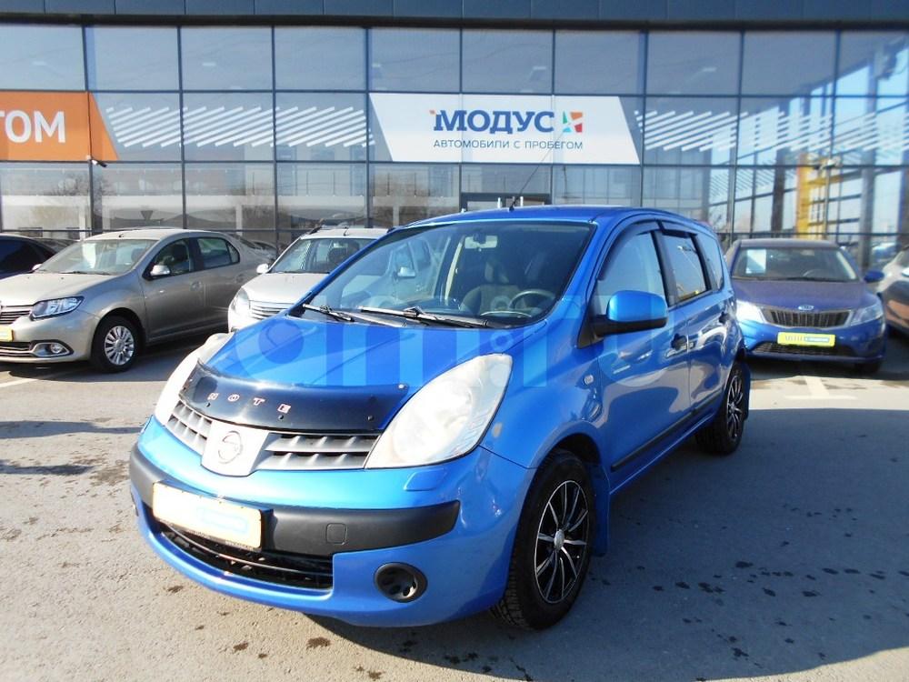 Nissan Note с пробегом, синий , отличное состояние, 2006 года выпуска, цена 310 000 руб. в автосалоне  ()