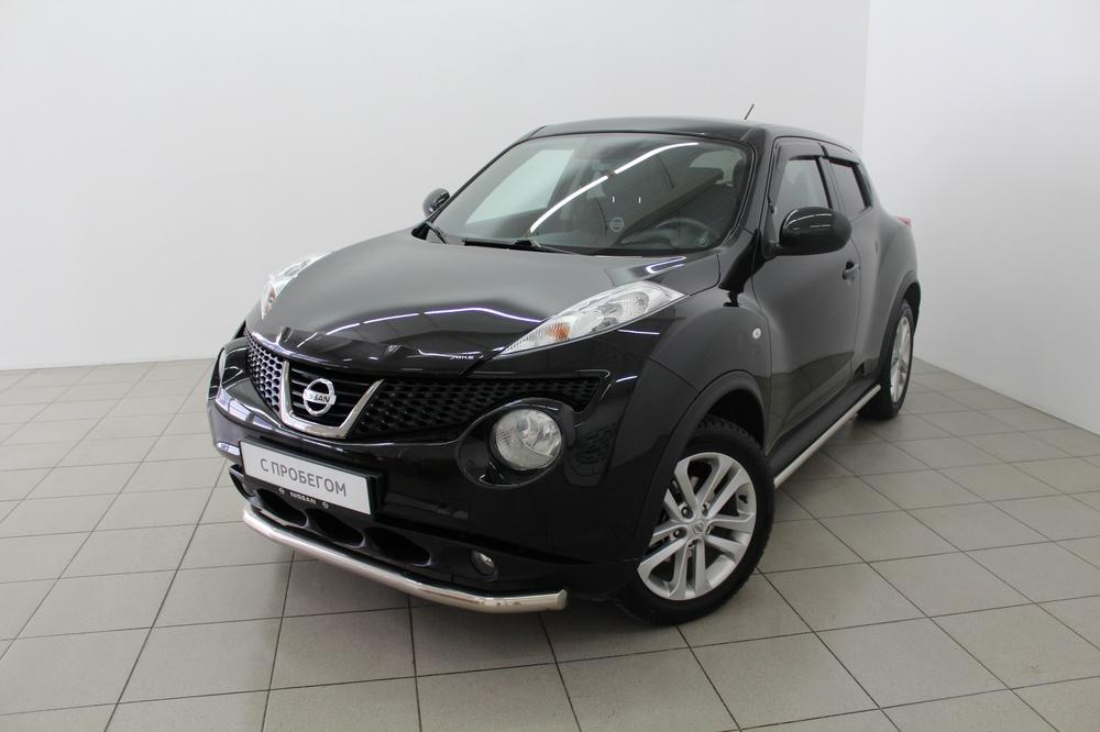 Nissan Juke с пробегом, черный перламутр, отличное состояние, 2012 года выпуска, цена 715 000 руб. в автосалоне  ()