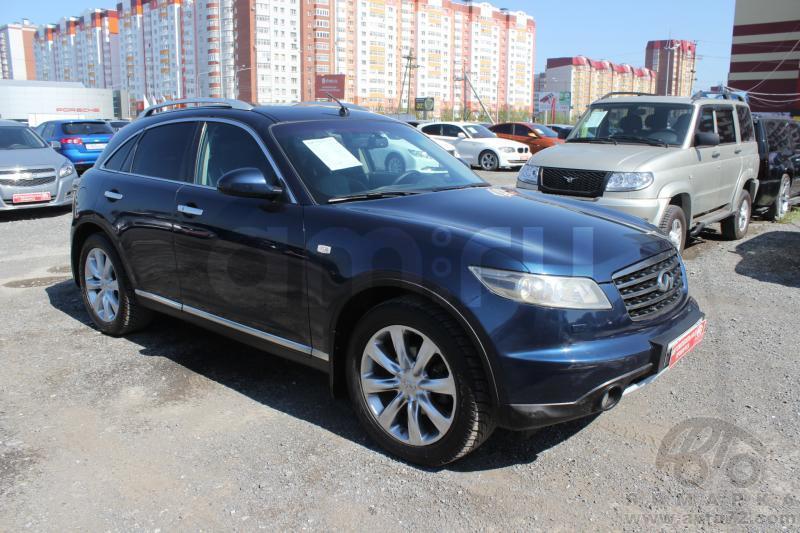Infiniti FX-Series с пробегом, синий , хорошее состояние, 2007 года выпуска, цена 721 000 руб. в автосалоне  ()
