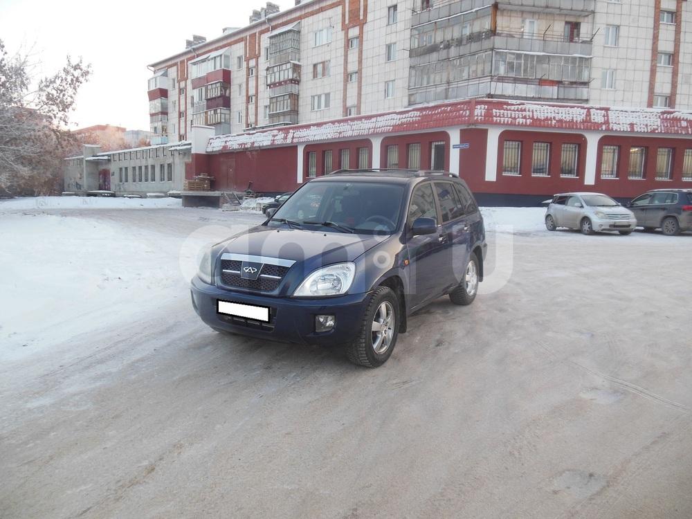 Chery Tiggo с пробегом, синий металлик, хорошее состояние, 2007 года выпуска, цена 277 000 руб. в автосалоне  ()