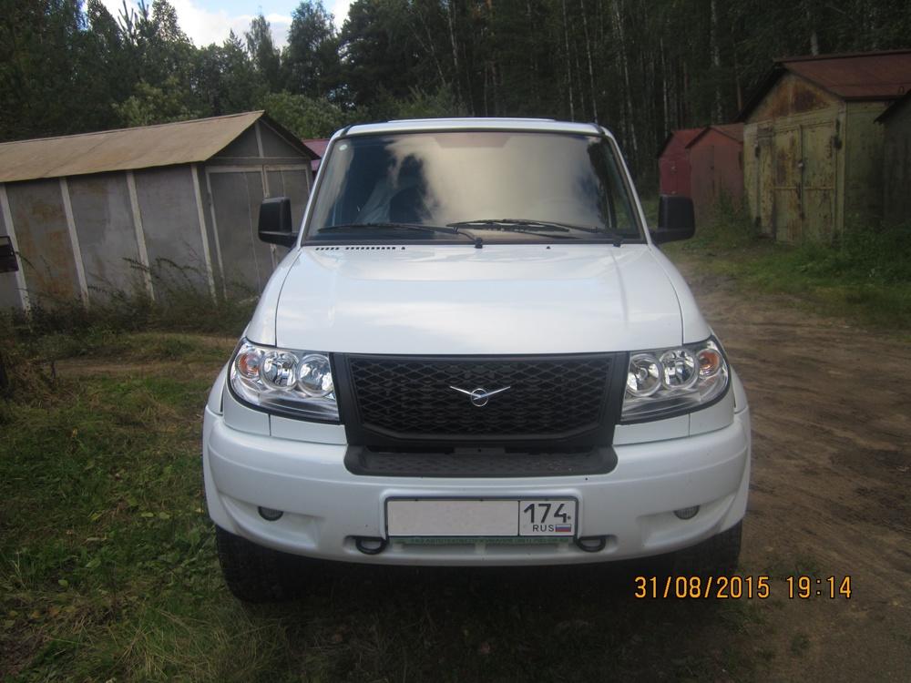 Подержанный УАЗ Pickup, отличное состояние, белый , 2014 года выпуска, цена 600 000 руб. в Челябинской области