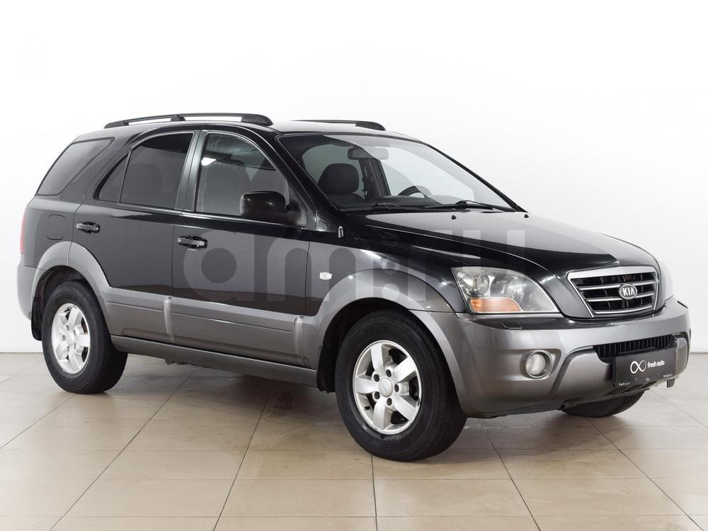 Kia Sorento с пробегом, черный , отличное состояние, 2007 года выпуска, цена 639 000 руб. в автосалоне  ()