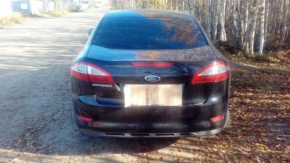 Подержанный Ford Mondeo, отличное состояние, черный металлик, 2007 года выпуска, цена 495 000 руб. в ао. Ханты-Мансийском Автономном округе - Югре