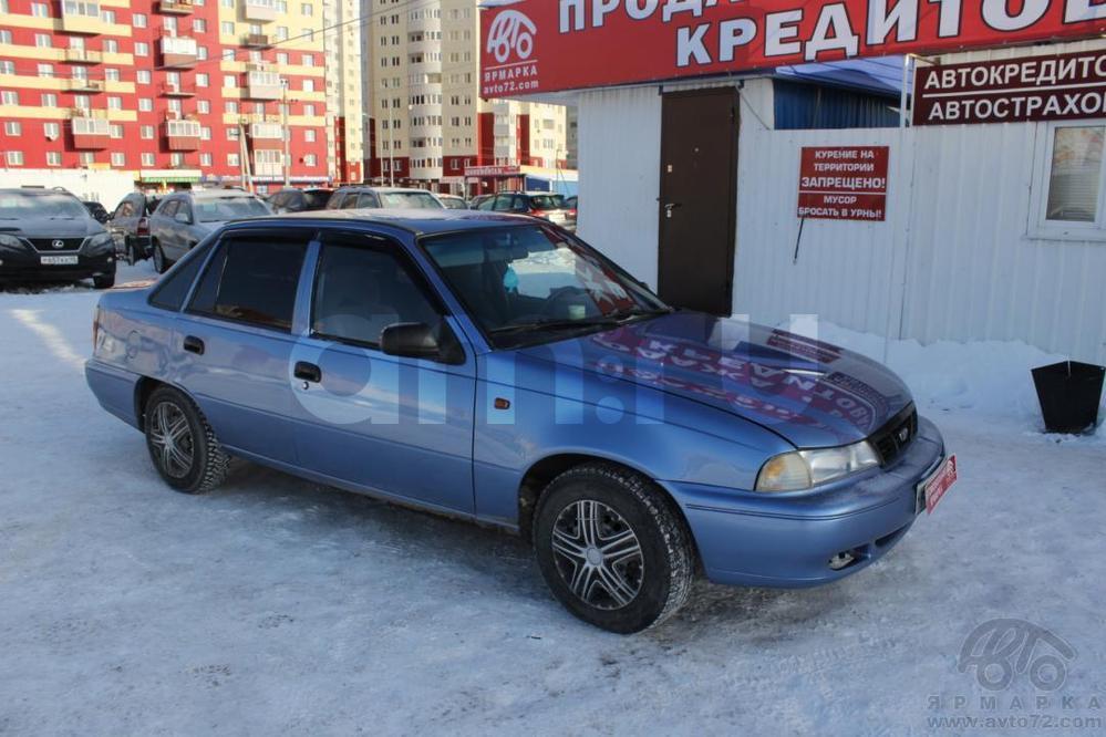 Daewoo Nexia с пробегом, голубой , хорошее состояние, 2007 года выпуска, цена 115 000 руб. в автосалоне  ()