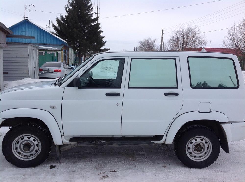 Подержанный УАЗ Patriot, хорошее состояние, белый , 2012 года выпуска, цена 470 000 руб. в Челябинской области