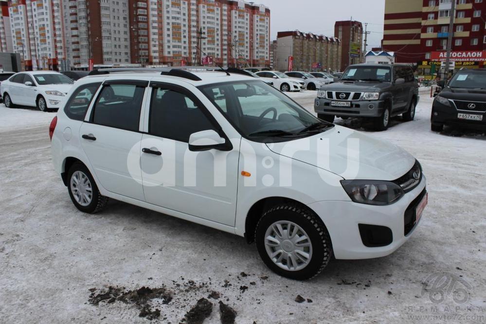 ВАЗ (Lada) Kalina с пробегом, белый , отличное состояние, 2015 года выпуска, цена 350 000 руб. в автосалоне  ()