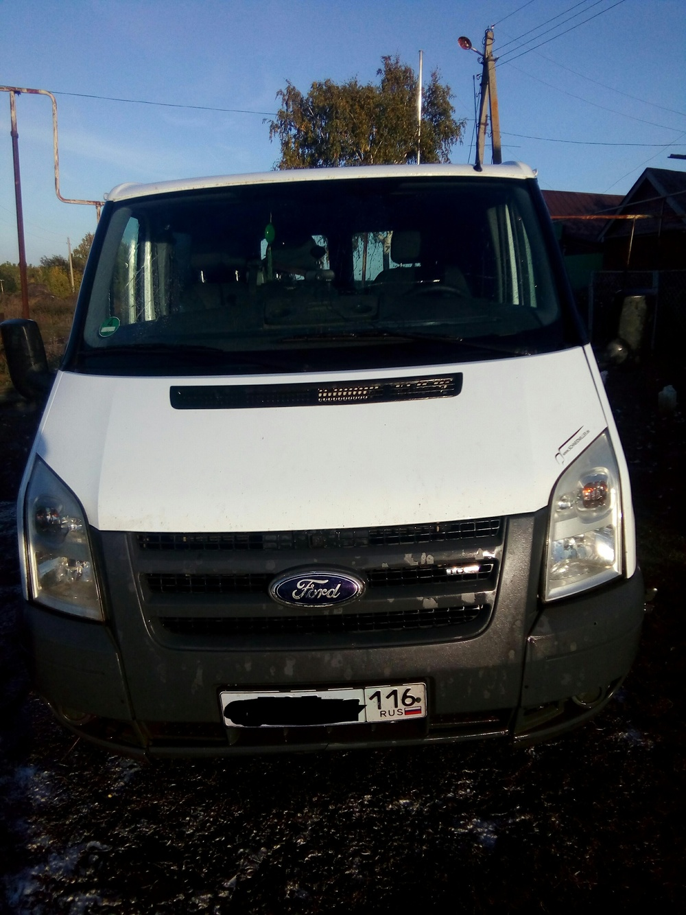 Подержанный Ford Transit, хорошее состояние, белый металлик, 2008 года выпуска, цена 420 000 руб. в республике Татарстане
