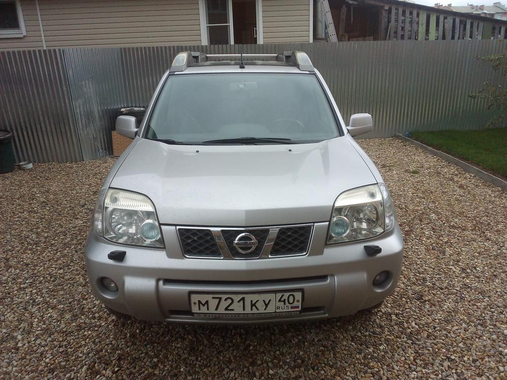 Подержанный Nissan X-Trail, отличное состояние, серебряный , 2005 года выпуска, цена 650 000 руб. в Смоленской области